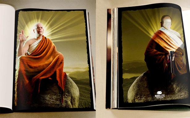 Buddha 20 Funny Print Ads