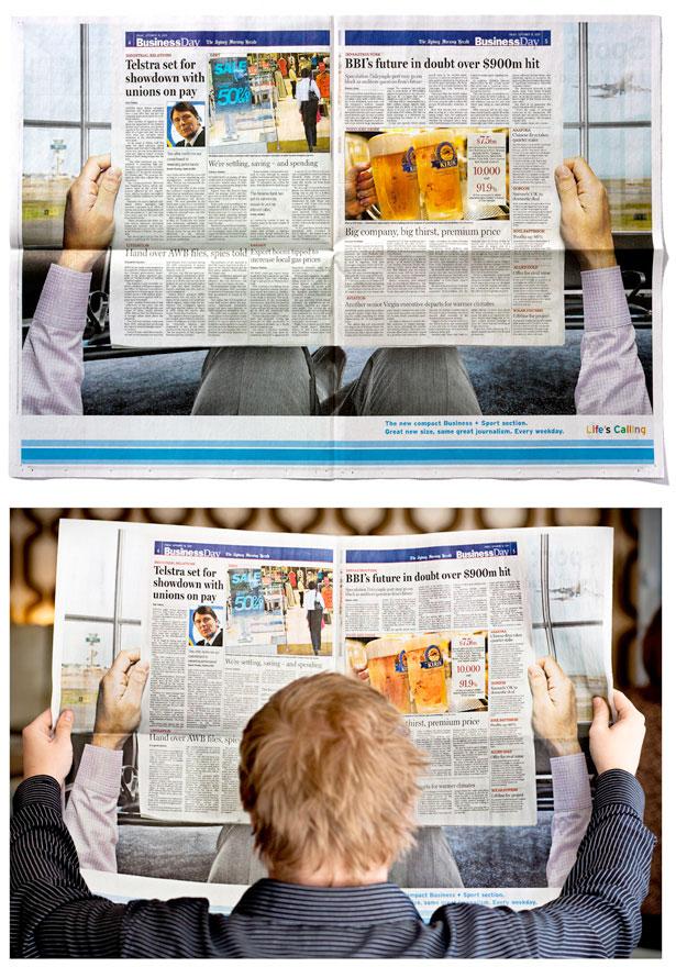 Fairfax 20 Funny Print Ads