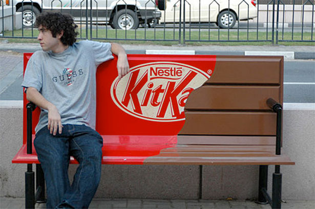 Kitkat 20 Funny Print Ads