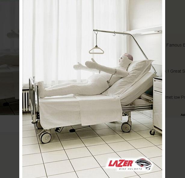 LazerHelmets 20 Funny Print Ads