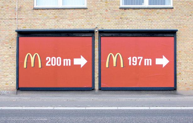 McDonald 20 Funny Print Ads