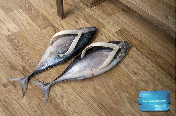 fish 20 Funny Print Ads