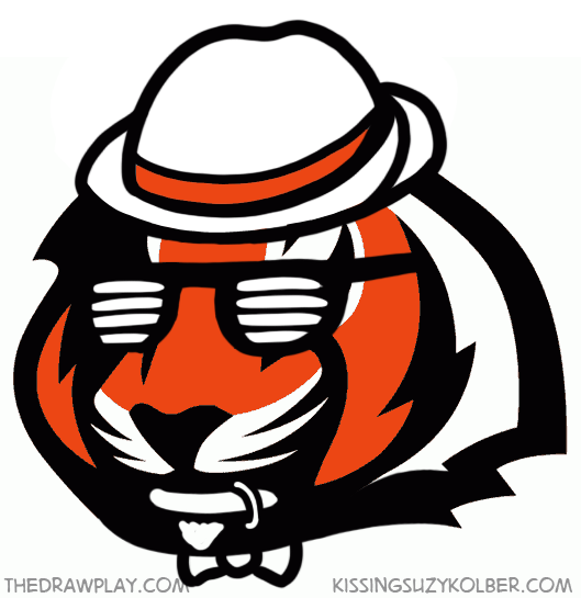 Bengals What if NFL logos were designed by hipsters?