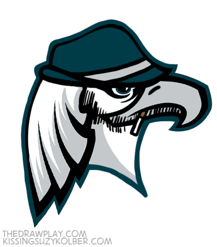 Eagles What if NFL logos were designed by hipsters?