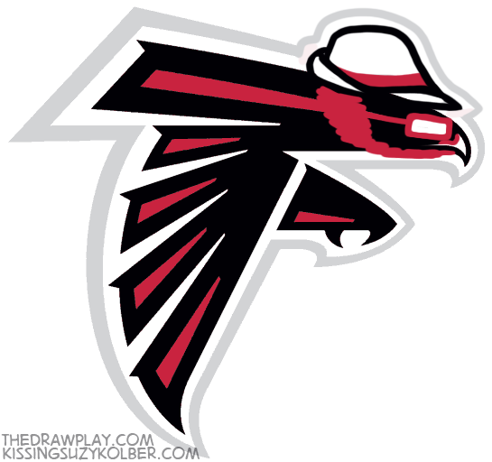 Falcons What if NFL logos were designed by hipsters?