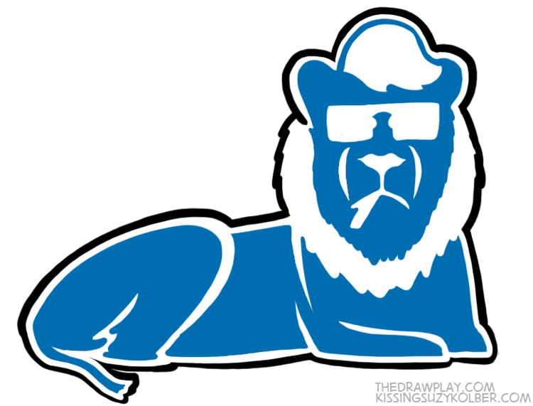 Lions What if NFL logos were designed by hipsters?