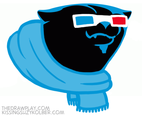 Panthers What if NFL logos were designed by hipsters?