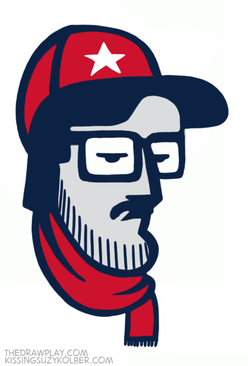 Patriots What if NFL logos were designed by hipsters?