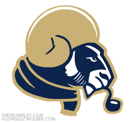 Rams What if NFL logos were designed by hipsters?