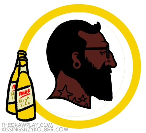 Redskins What if NFL logos were designed by hipsters?