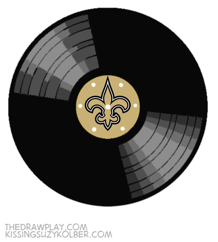 Saints What if NFL logos were designed by hipsters?