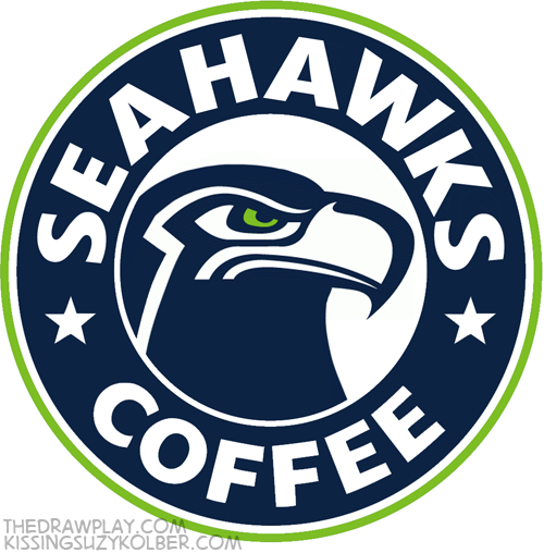 Seahawks What if NFL logos were designed by hipsters?