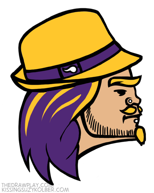 Vikings What if NFL logos were designed by hipsters?