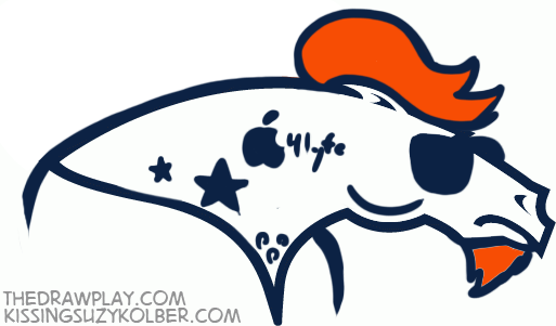 broncos What if NFL logos were designed by hipsters?