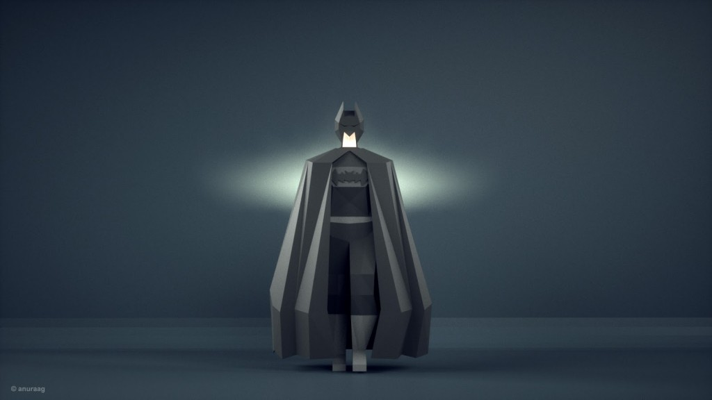 darkknight HD 1024x576 Incredible 3D artwork inspired from popular tv shows and movies