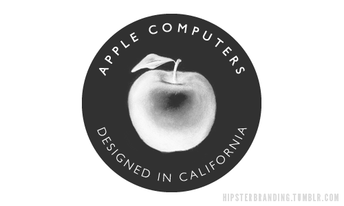 hipster branding apple computers Hipster branding: Corporate logos redesigned to be more hipster