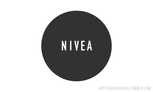 hipster branding nivea Hipster branding: Corporate logos redesigned to be more hipster