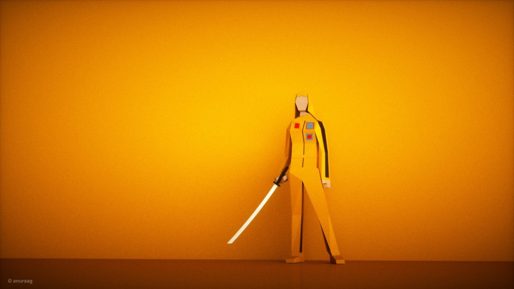 killbill HD 1024x576 Incredible 3D artwork inspired from popular tv shows and movies