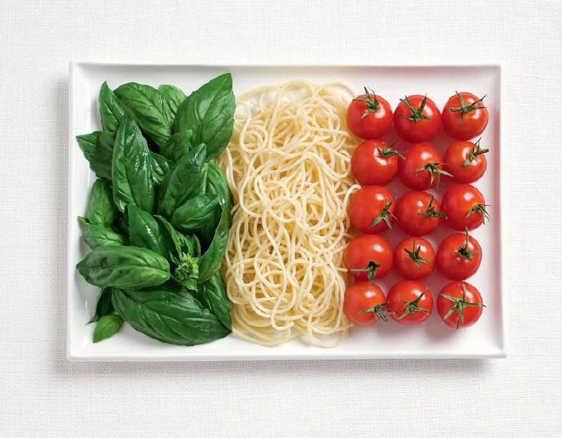 national flag made food normal 18 National Flags Made From Food