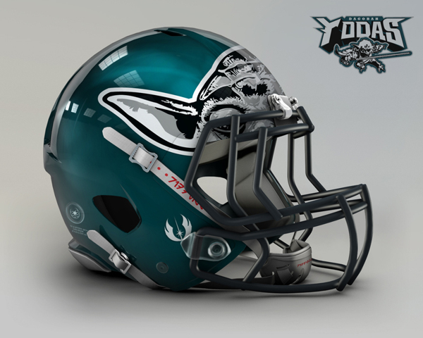 03456a7f7c4db26660e50ea665ff282c NFL Helmets Receive Star Wars Treatment with Mash Up