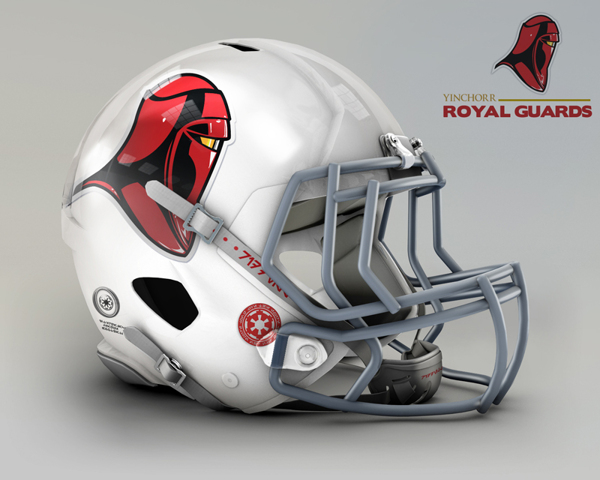 05e893e64e6e4e078930727bfc7f6fd6 NFL Helmets Receive Star Wars Treatment with Mash Up