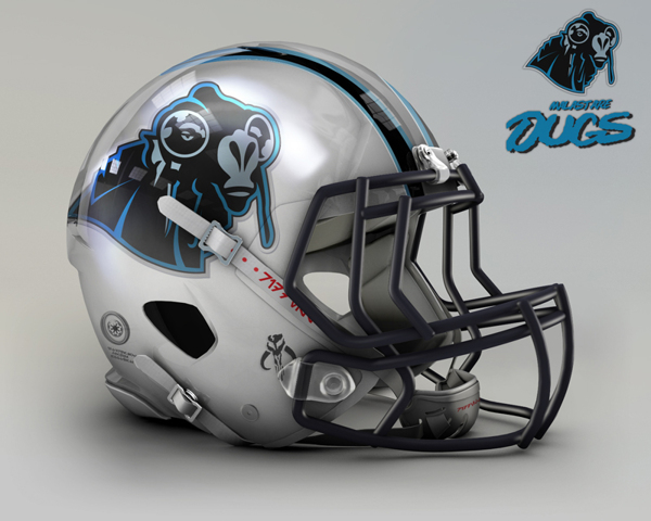 5e1dccca7a03065ffe9413e1309947d4 NFL Helmets Receive Star Wars Treatment with Mash Up