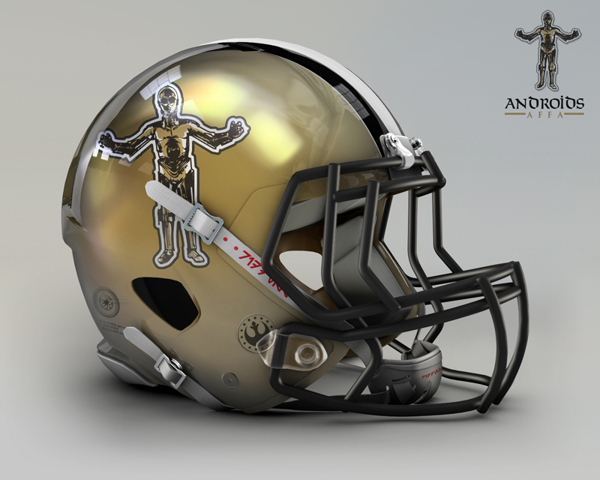 7a3273121e38c42fff8dd02ccc105a21 NFL Helmets Receive Star Wars Treatment with Mash Up