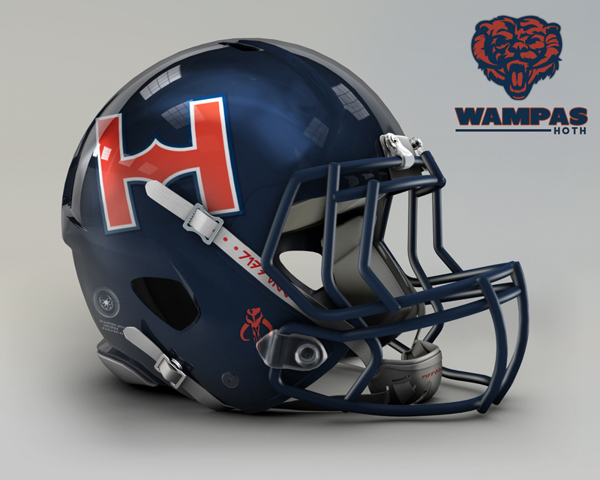 a5876d6b87168cdee1d8bac815db5534 NFL Helmets Receive Star Wars Treatment with Mash Up