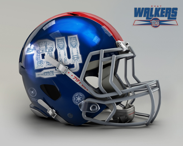 b203dbe9a14599c837b563774e4c38ce NFL Helmets Receive Star Wars Treatment with Mash Up