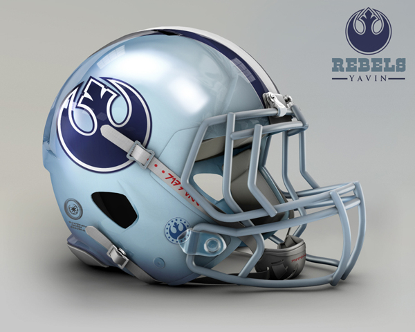 b914bf28cc1bd3b1dd1e8fe0848dd4aa NFL Helmets Receive Star Wars Treatment with Mash Up