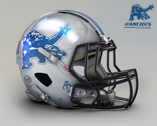 bf83aca1b1b635852a71023a458abec6 NFL Helmets Receive Star Wars Treatment with Mash Up